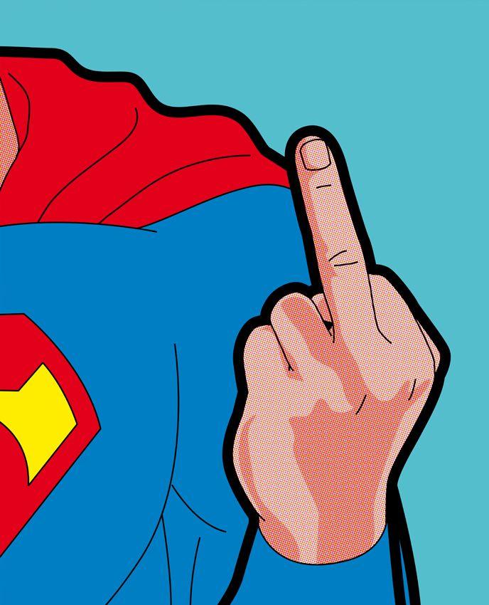 Artista gráfico desenha ícones pop e super-heróis como você nunca viu | pausa dramática