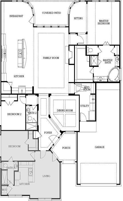 17 best ideas about next gen homes on pinterest house for Tandem garage house plans