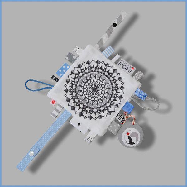Oryginalna szmatka sensoryczna MANDALA - RAMPAMPONI - Zabawki sensoryczne