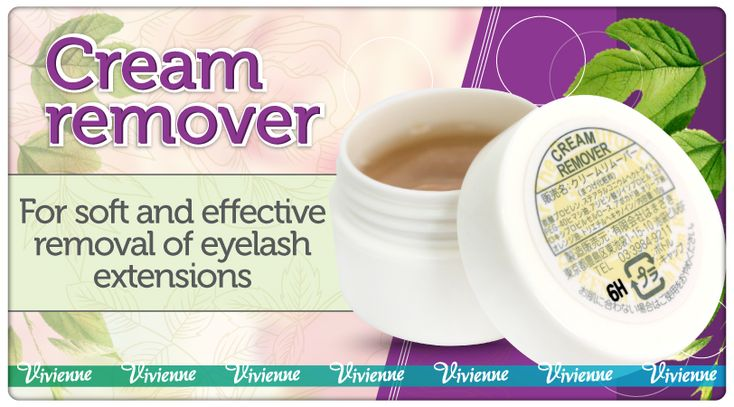 When the time has come to remove eyelash extensions, cream remover comes to the rescue!   This Japanese agent perfectly deals with any type of the eyelash extension adhesive. Its thick and creamy texture allows for even, comfortable and economical application. The adhesive starts to dissolve in just a few swipes of the micro brush! And in 10 minutes you can go ahead and remove eyelash extensions. This agent does not spread out, so your client can stay with their eyes open during the entire…
