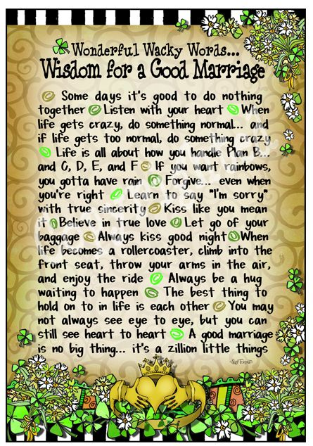 Celtic Good Marriage - 8x10 Gifty Art