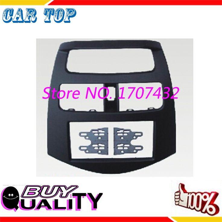 (84.59$)  Know more  - High quality Car refitting DVD frame,DVD panel Dash Kit Fascia Radio Frame for 2010 Daewoo Martiz, Chevrolets Spark, Beat , 2DIN