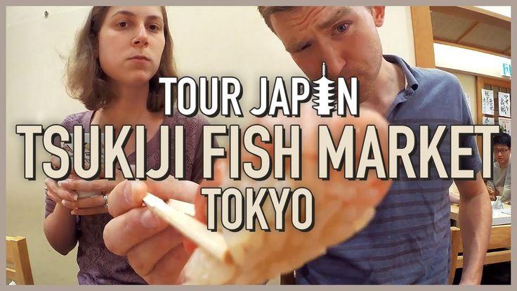 Let's eat fresh Sushi!! 「Tsukiji Fish Market」