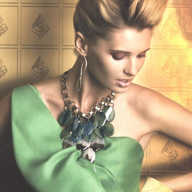 Lionette Seychelles Necklace in Green
