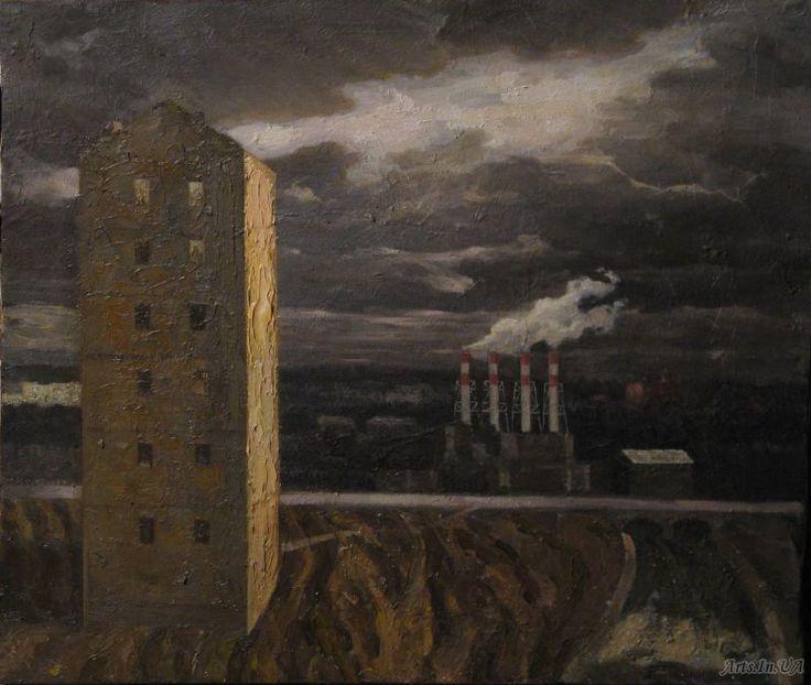 Городской пейзаж - Таратута Илья