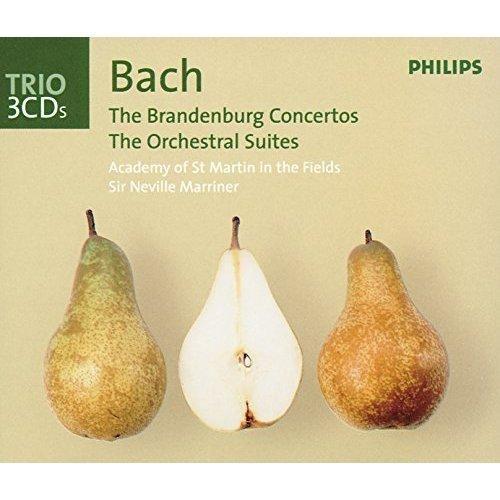 Academy of St. Martin in the Fields & Orchestre Symphonique de Montréal - Bach, J.S.: Brandenburg Concertos/Orchestral Suites/Violin Concertos