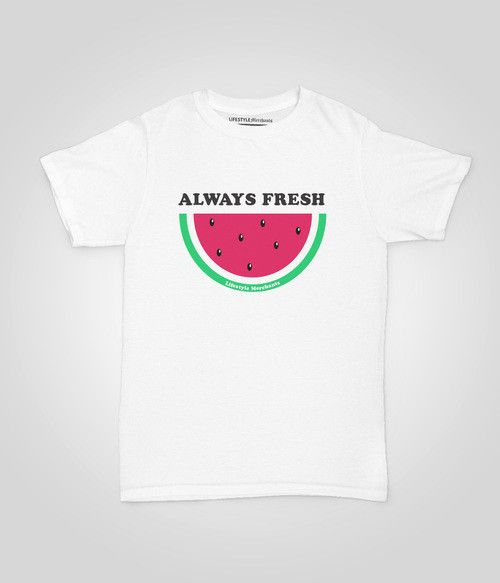 Lifestyle Merchants-Always Fresh Tee Shirt New print now instore and online