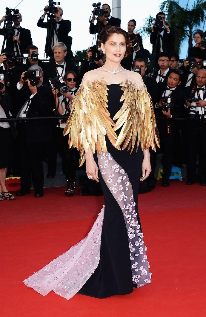 Laetitia Casta wearing Dior attends 2013 Cannes Film Festival closing ceremony
