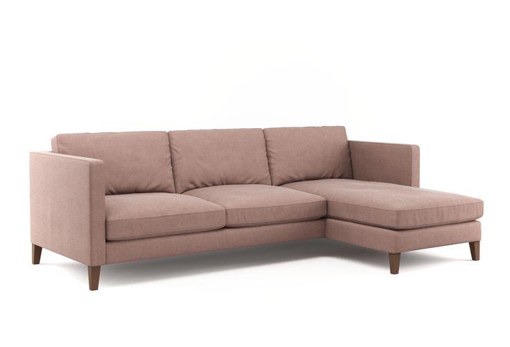 Moderne silhoutte und maximaler komfort designer sofa baxter hier zu sehen mit dem stoff - Designer couch modelle komfort ...