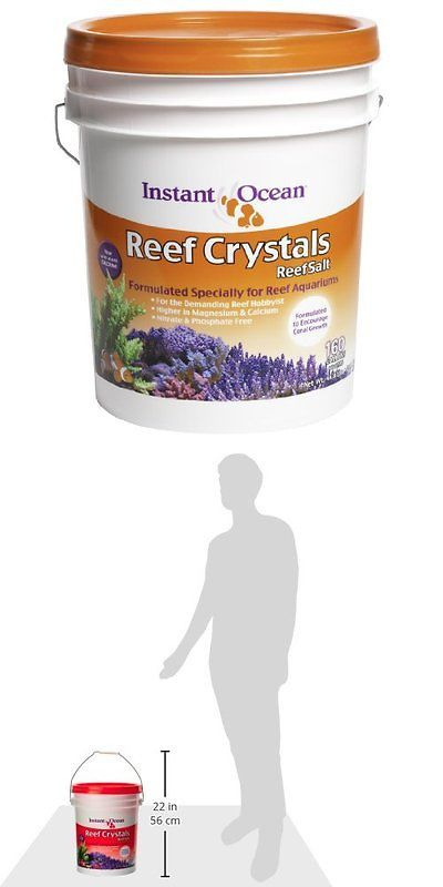 Other Fish and Aquarium Supplies 8444: Instant Ocean Reef Crystal Sea Salt Marine Mix, 160-Gallon New -> BUY IT NOW ONLY: $58.65 on eBay!