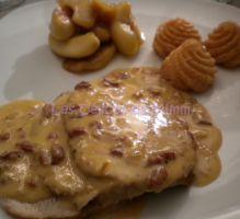 750 grammes vous propose cette recette de cuisine : Rôti de porc au cidre et aux lardons, pommes fondantes au miel. Recette notée 3.8/5 par 79 votants et 15 commentaires.