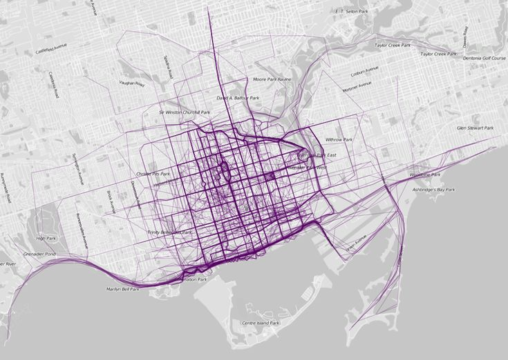 Heat Maps Reveal Where People Run In Major Cities