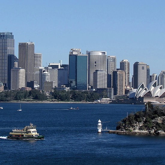A Taronga Zoo View... (Press on image to get extended view.)