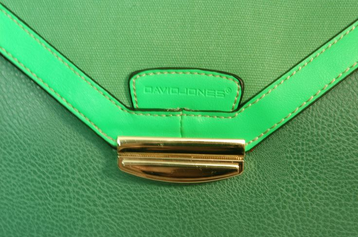 David Jones Clutch Bags / Green / Neon Green