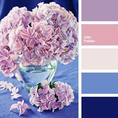 Light, bright palette, like a gentle spring flowers. Cold and warm colors - a spectacular combination. Powder pink and pale lilac fine play in background s.