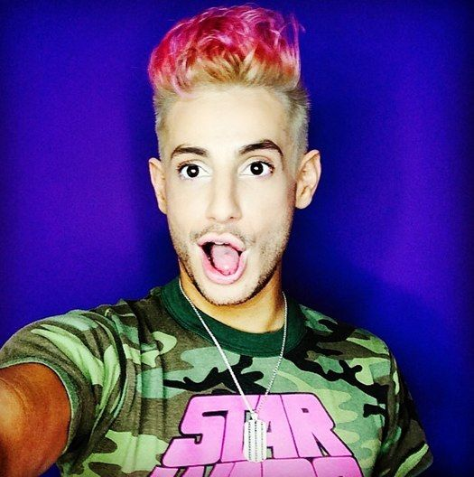 Frankie Grande: My favorite haha love how he's even girlier than me sometimes lol