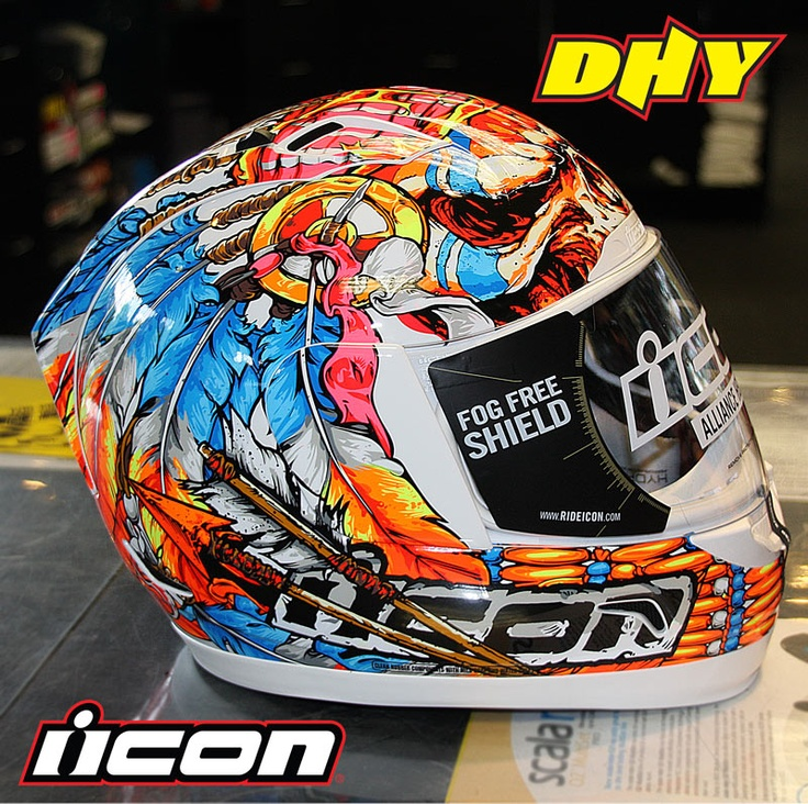 Brand new Icon Alliance Chieftain Helmet is on the shelf