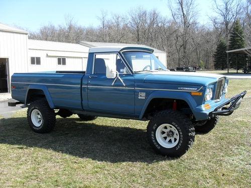 Jeep : 1971 Gladiator Pick-Up