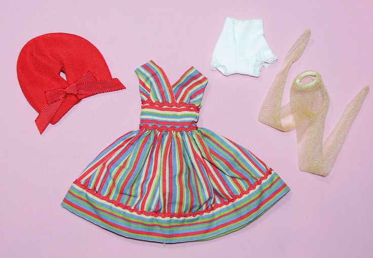 """TONNER 10"""" TINY KITTY FIESTA OUTFIT FITS SIMONE ROUGE #Tonner #ClothingAccessories"""