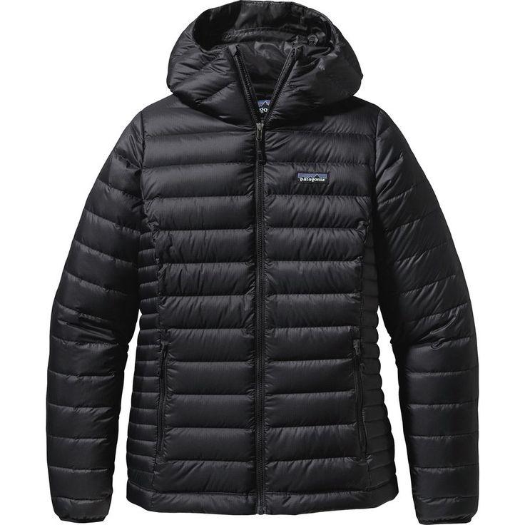 Patagonia - Down Sweater Full-Zip Hooded Jacket - Women's - Black