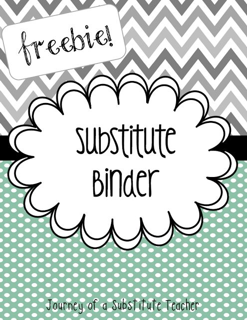 34 best subbing images on pinterest subsitute teacher school and sub tub and sub binder us a link to blog for ideas for fandeluxe Gallery