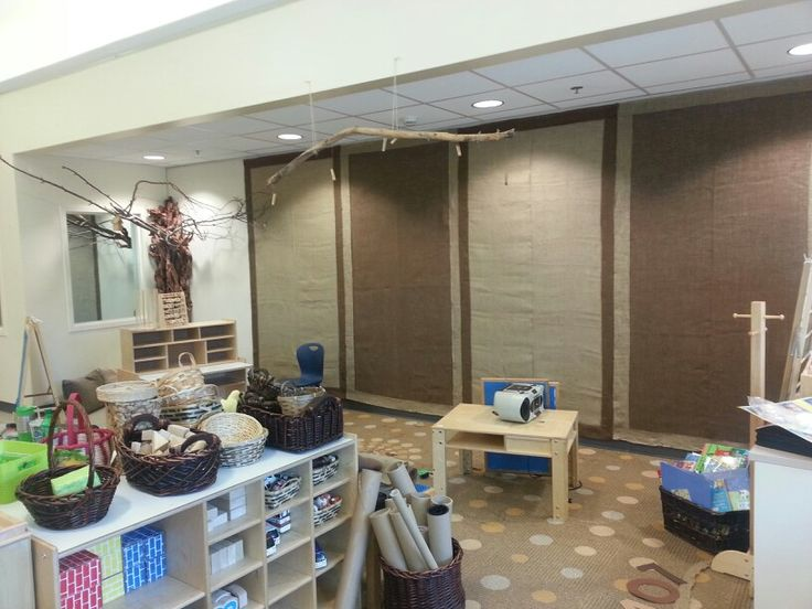 Classroom Decor Ideas Elementary ~ Burlap walls such an easy way to cozy up a classroom