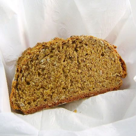 This is the real McCoy - Irish wholemeal soda bread for St. Patrick's Day