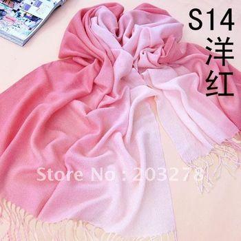 Wholesale - Cashmere Pashmina Scarf Shawl Wrap Womens Scarves 2-Tone 30 colors 180*70cm