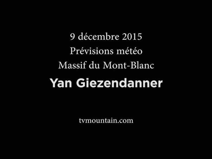 9 décembre 2015, bulletin prévisions météo neige... Chamonix massif du Mont-Blanc... Yan Giezendanner... Pas beaucoup de neige avant fin décembre... VIDEO: http://www.tvmountain.com/video/montagne/11014-previsions-bulletin-meteo-neige-chamonix-massif-du-mont-blanc-decembre-2015.html