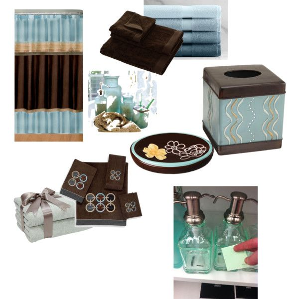 17 images about bathroom redecorating on pinterest for Teal brown bathroom ideas