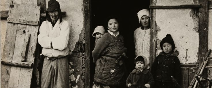 Photo by Yim, Eung Sik, 1935, Part of the family photograph of him.