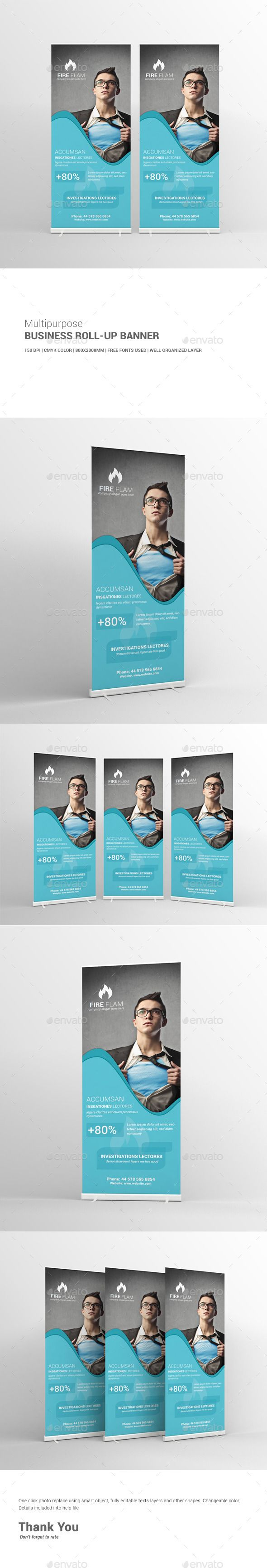 52 best templates banners images on pinterest banner template multipurpose business roll up banner template design download httpgraphicriver flashek Choice Image