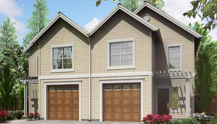 73 best Duplex House Plans images on Pinterest Duplex plans