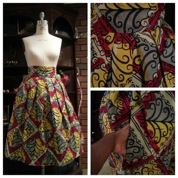 17 Best images about African print skirts on Pinterest | African ...