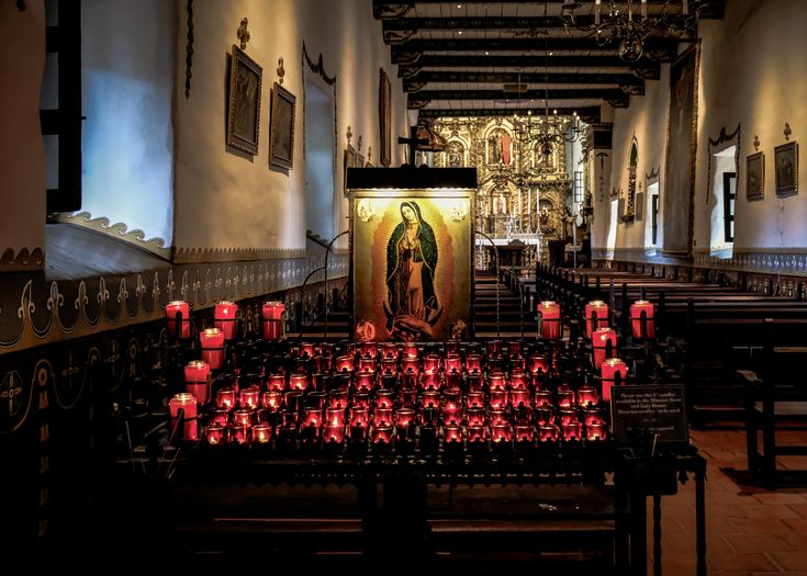 https://flic.kr/p/EYeS4j   Our Lady of Guadalupe, Mission San Juan Capistrano 9/10/17 #missionsjc #candles