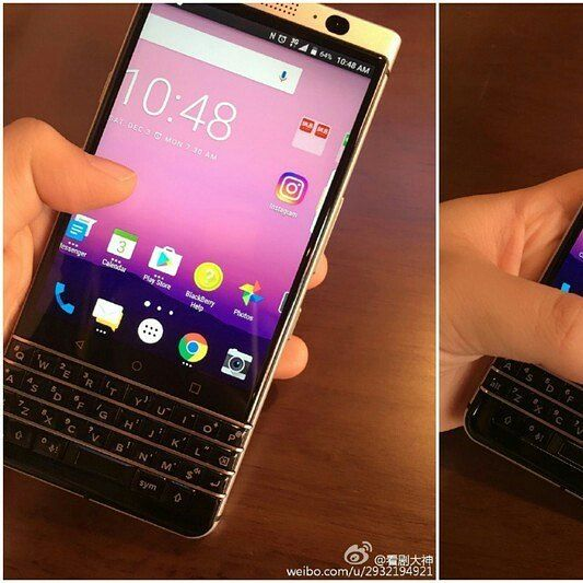 The new BlackBerry Mercury.