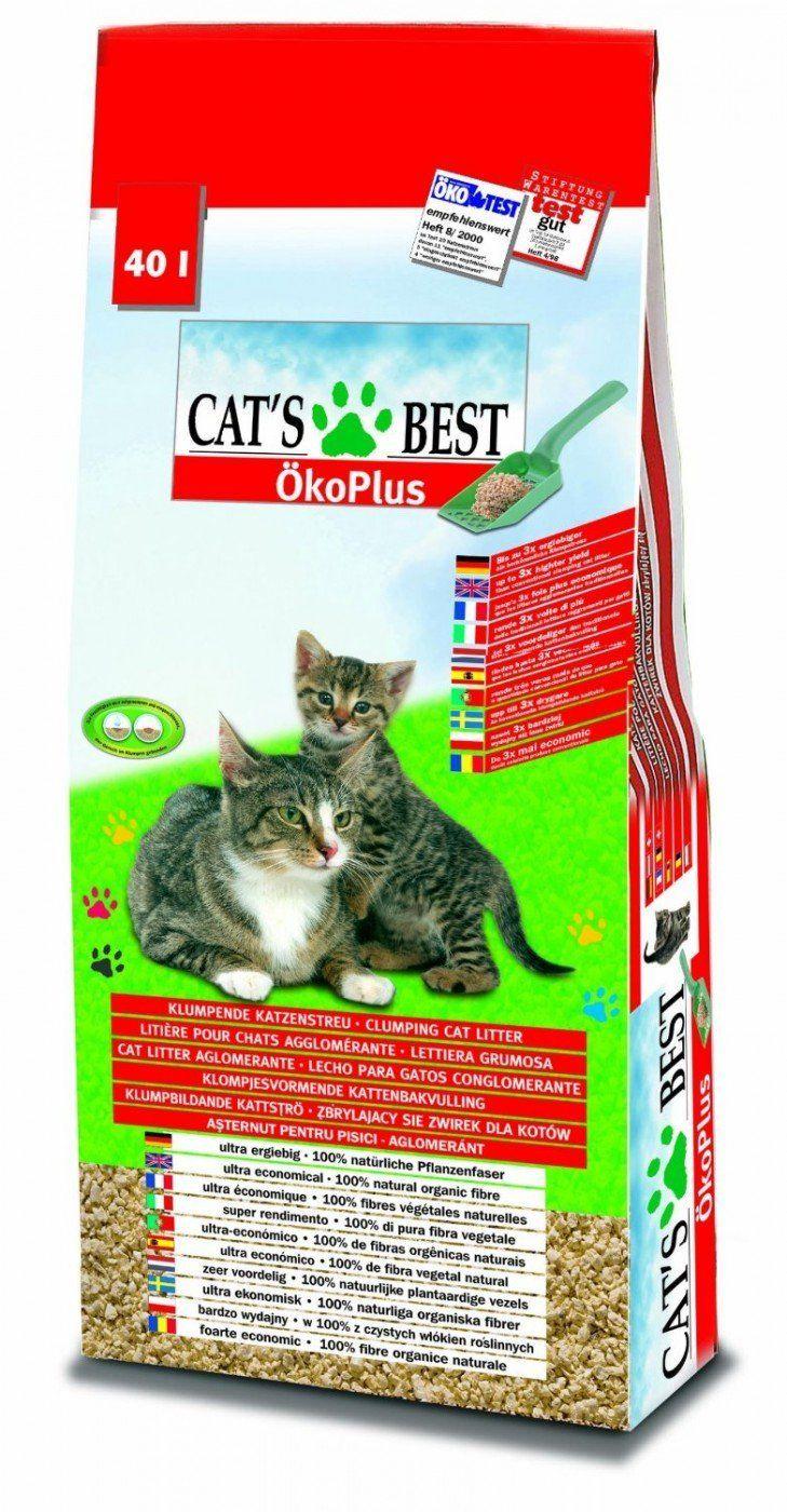 Cat's Best Öko Plus Katzenstreu - eine echte Innovation für Katzentoiletten - http://www.katzenklo-kaufen.de/cats-best-oeko-plus-katzenstreu/