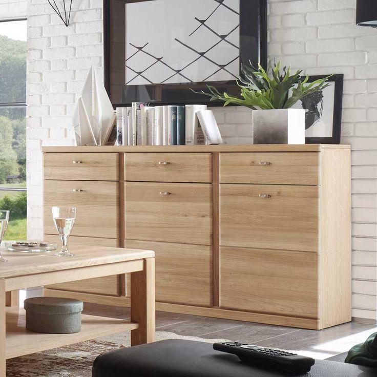 Wohnzimmer Sideboard Aus Wildeiche Bianco 3 Trig Jetzt Bestellen Unter Moebel