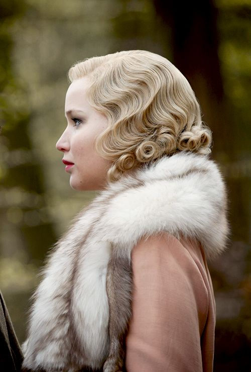 thyrdculture:  Jennifer Lawrence in Serena (2014). Costume design by Signe Sejlund.http://thyrdculture.tumblr.com
