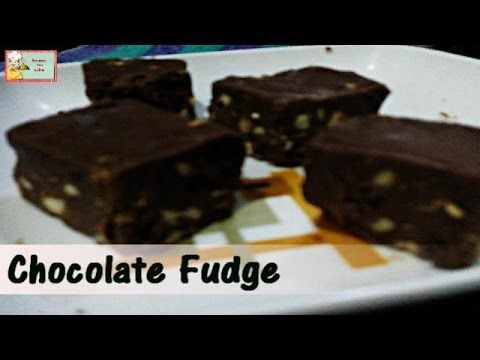 Simple and Easy to Make Chocolate Fudge Recipe