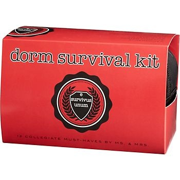 "dorm survival kit. haha ""laundry instructions' I know so many guys that would actually need this..."