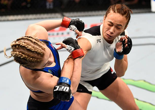 UFC on FOX 22 video highlights: Michelle Waterson chokes