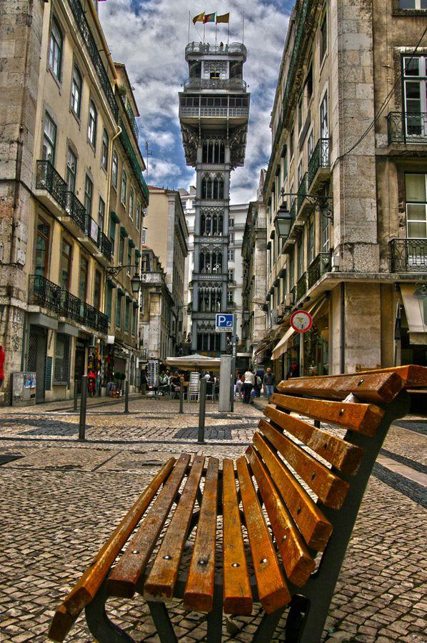 Santa Justa Lift, #Lisbon