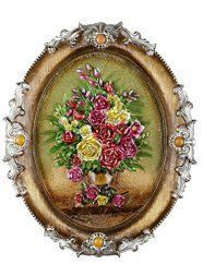 Metal floral wall art is beautiful cute and amazingly  popular in homes across the world. Metal  Flower wall art comes in many different sizes, stylish and colors. You can find traditional florals on canvas  however you can find more abstract floral patterns that are attention getting  and unique. #metalwallart #wallart  #flowers      Igloo Arts - Flowers in Round Frame - Resin Flower Wall Art -