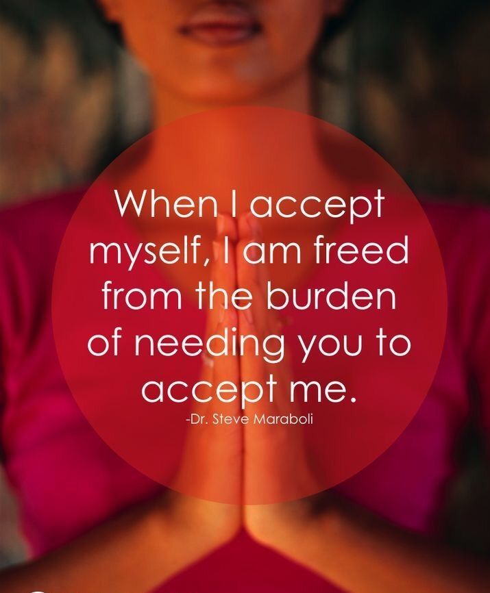 Accepting myself... #quotes
