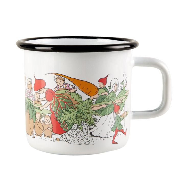 Elsa Beskow Vegetable Garden Mugg 37cl, Muurla