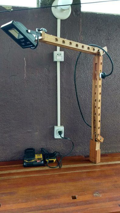 Bench lamp – Do one of these … – #Hold …