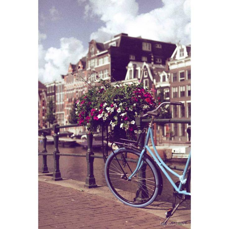 • la classica postcard da Amsterdam •  Prima tappa del nostro primo viaggio …