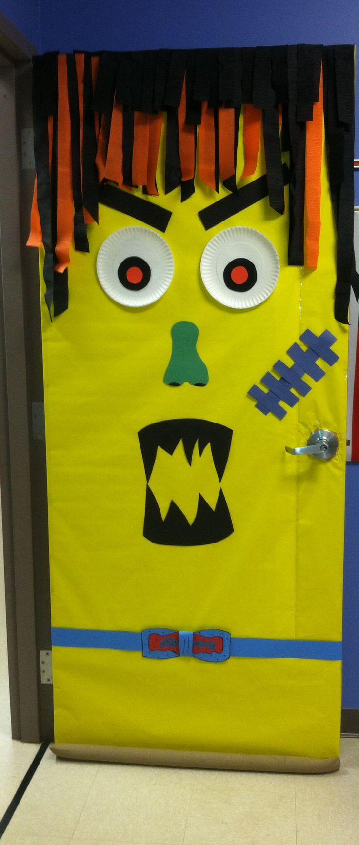 Halloween classroom door decorations - Our A Door Able Classroom