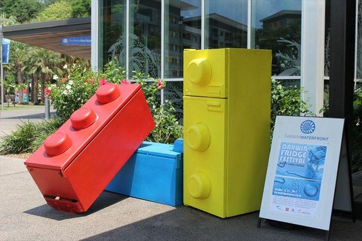 Darwin Fridge Festival #art #fridge #Darwin